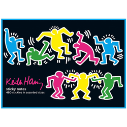 Keith Haring Sticky Notes