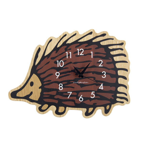 "Sync x Lisa Larson Wall Clock ""Hedgehog"" by Karimoku"