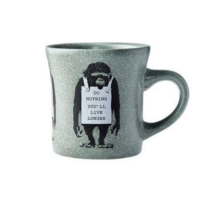 Monkey Sign Wall Mug