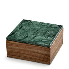 Wooden Box with Marble Lid