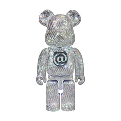 MEDICOM TOY x LIGHTS STYLE SWAROVSKI CRYSTAL DECORATED 400% BE@RBRICK