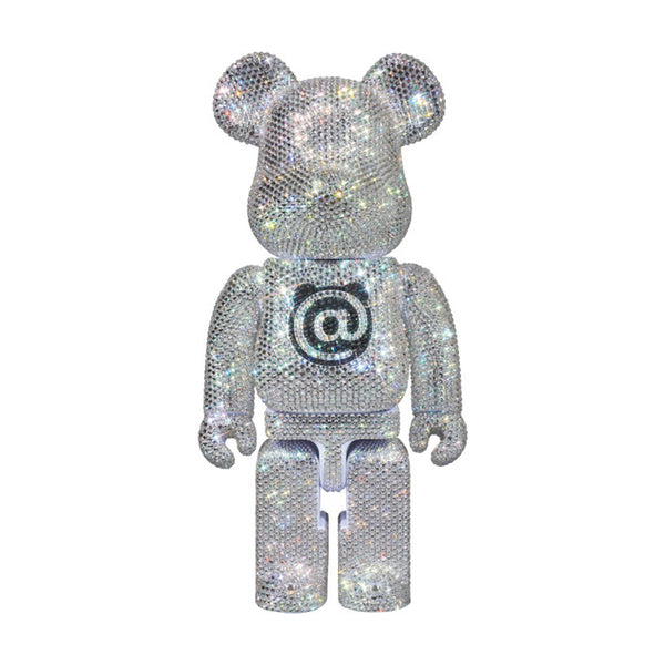 MEDICOM TOY x LIGHTS STYLE SWAROVSKI CRYSTAL DECORATED 400% BE@RBRICK [Pre-Order Only]