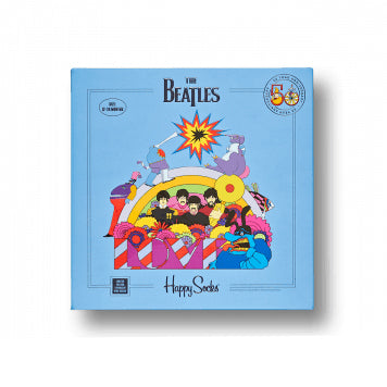 THE BEATLES 50 YEAR ANNIVERSARY KIDS SOCK BOX SET