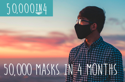 Oyster face mask campaign