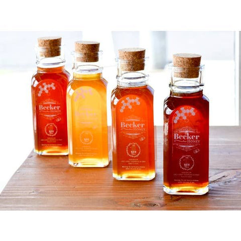 a selection of the company's honey
