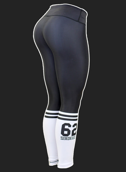 Six Deuce Crossfit Sox Black Leggings