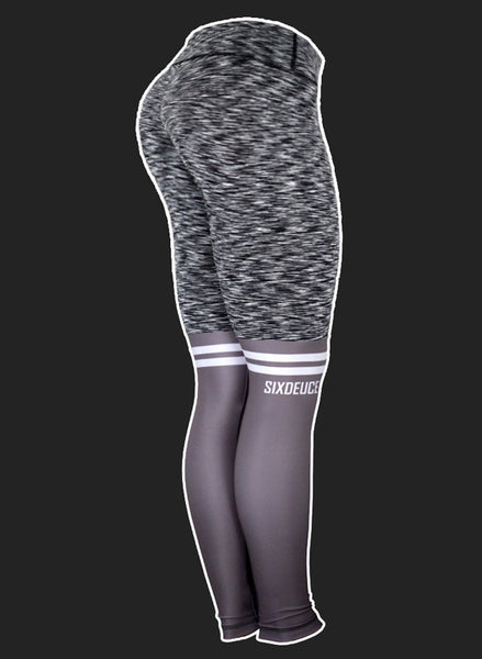Six Deuce Knee Sox Rough Grey 2.0 Leggings