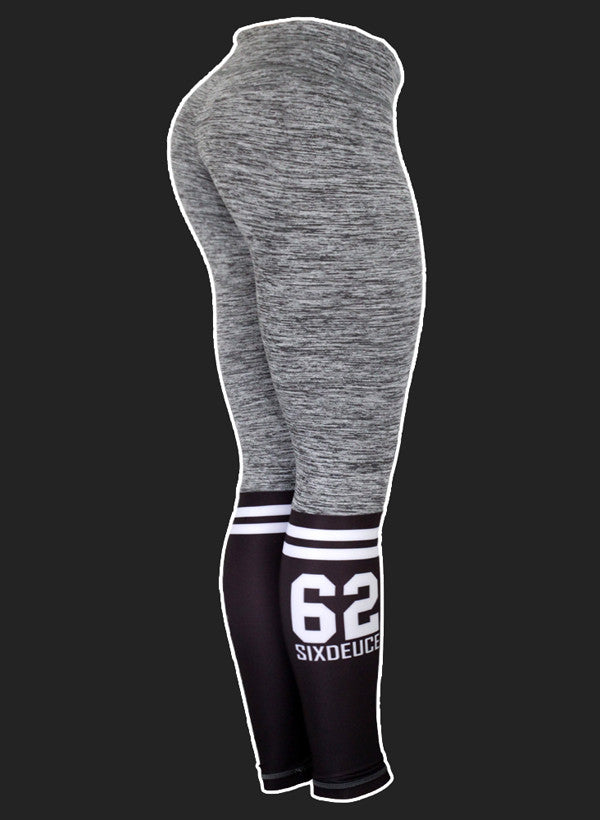 Six Deuce Sox Rough Grey 2.0 Leggings