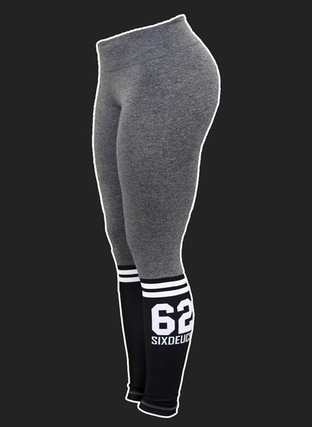 Six Deuce Sox Soft Grey Leggings