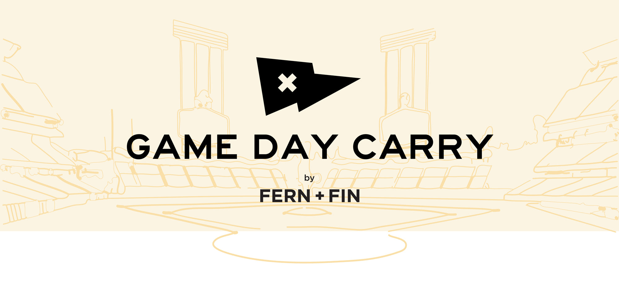 Game Day Carry by Fern + Fin