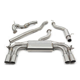 Cobra Sport Exhaust - Audi S3 (8V) 5 Door Sportback (Valved) Turbo Back Performance Exhaust