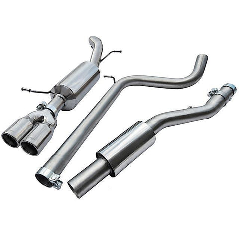 Cobra Sport Exhaust - Seat Ibiza FR 1.4 TSI (10-14) Cat Back Performance Exhaust