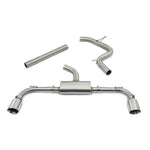 Cobra Sport Exhaust - VW Golf GTI (Mk8) 2.0 TSI (20>) Box Delete Race GPF Back Performance Exhaust