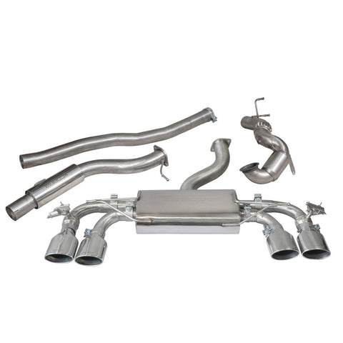 Cobra Sport Exhaust - VWGolf R (Mk7) 2.0 TSI (5G) (12-18) Turbo Back Performance Exhaust