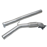 Cobra Sport Exhaust - Audi TT (Mk2) 2.0 TFSI (Quattro) 2012-14 Front Downpipe Sports Cat / De-Cat Performance Exhaust