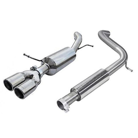 Cobra Sport Exhaust - Seat Ibiza FR 1.2 TSI (10-15) Cat Back Performance Exhaust