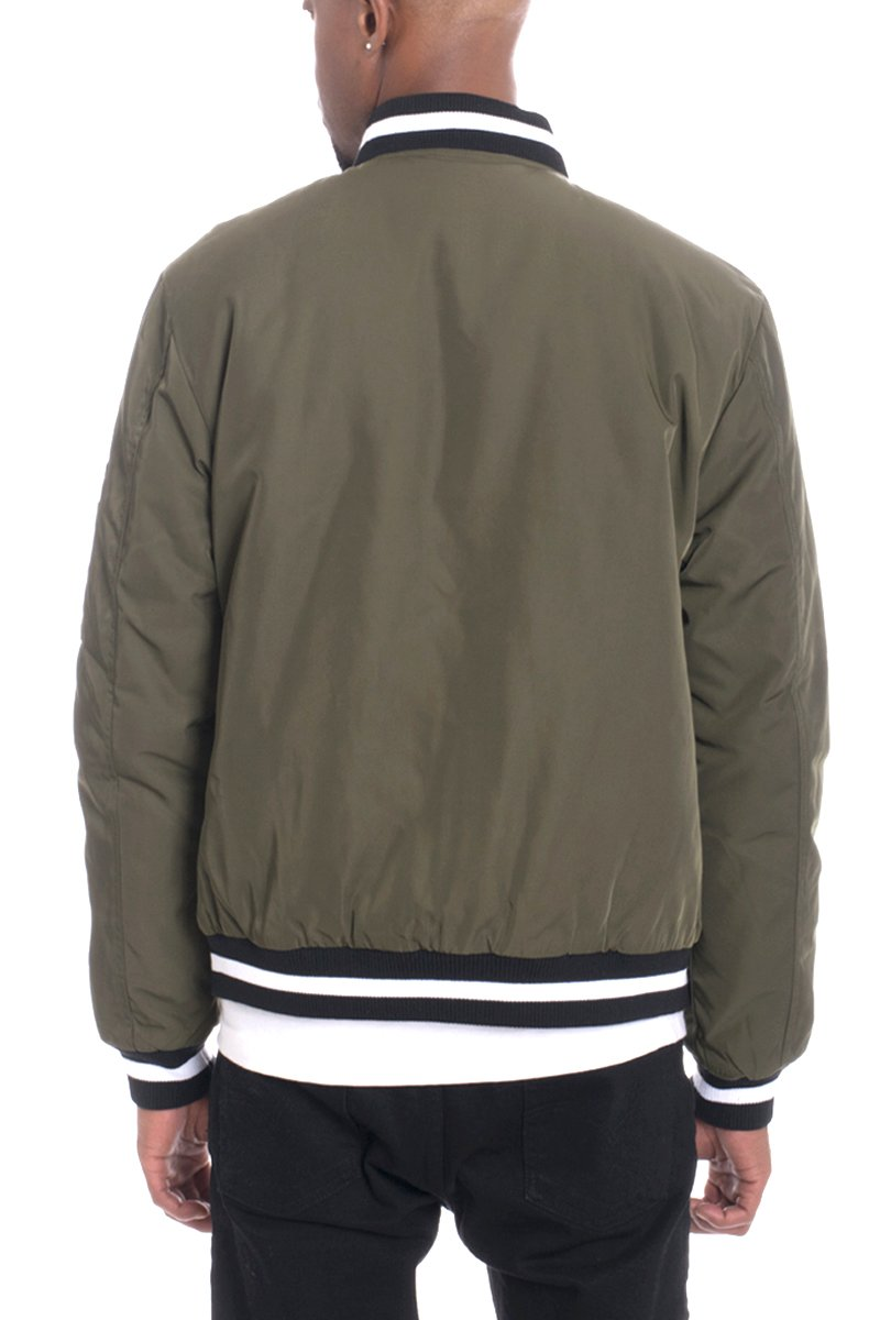 LUXE TWILL JACKET