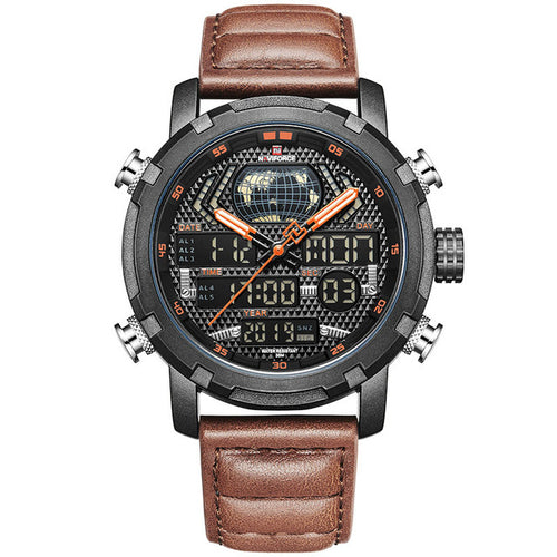 Mens Watches NAVIFORCE Luxury Brand Fashion Sport