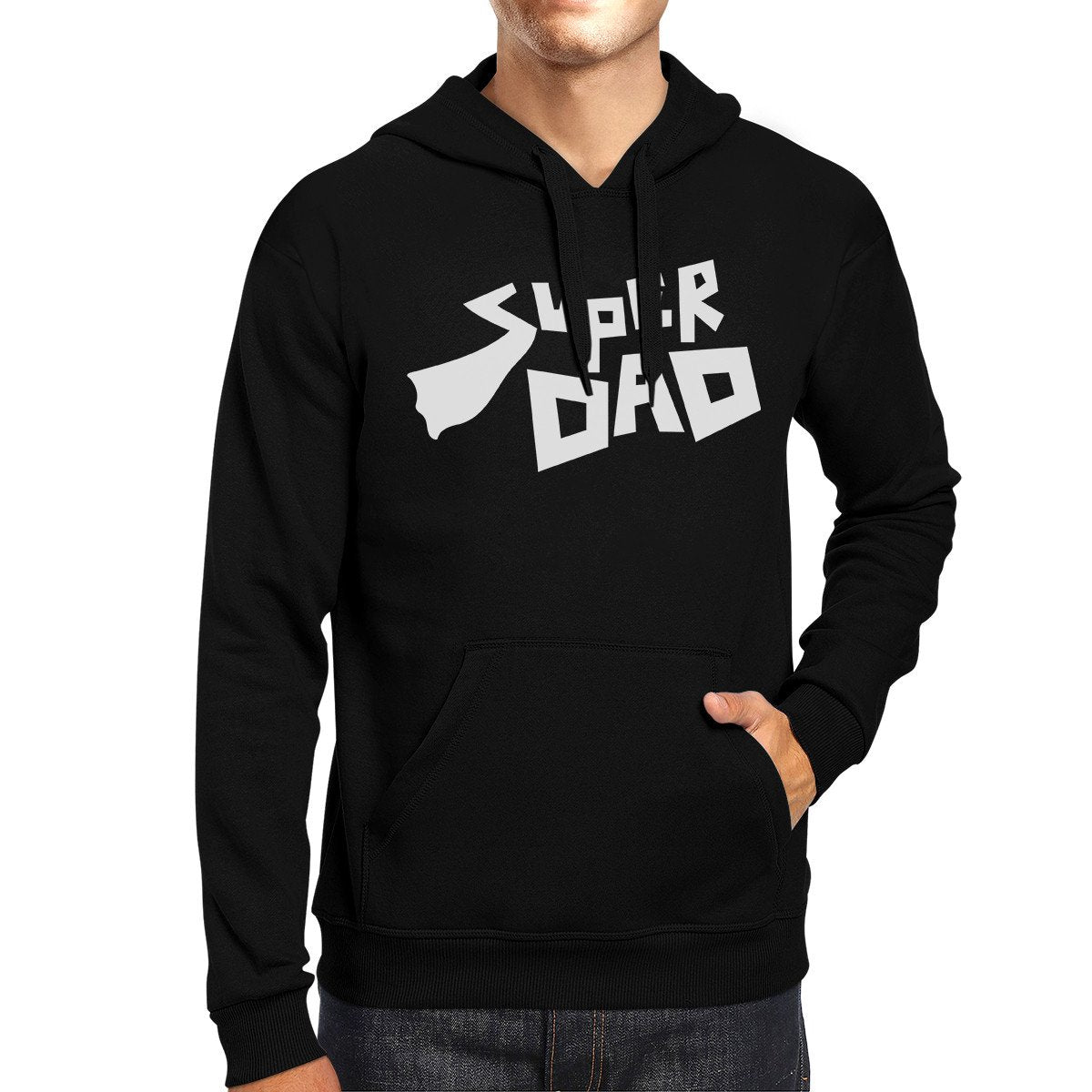 Super Dad Unisex Funny Graphic Hoodie Best Dad