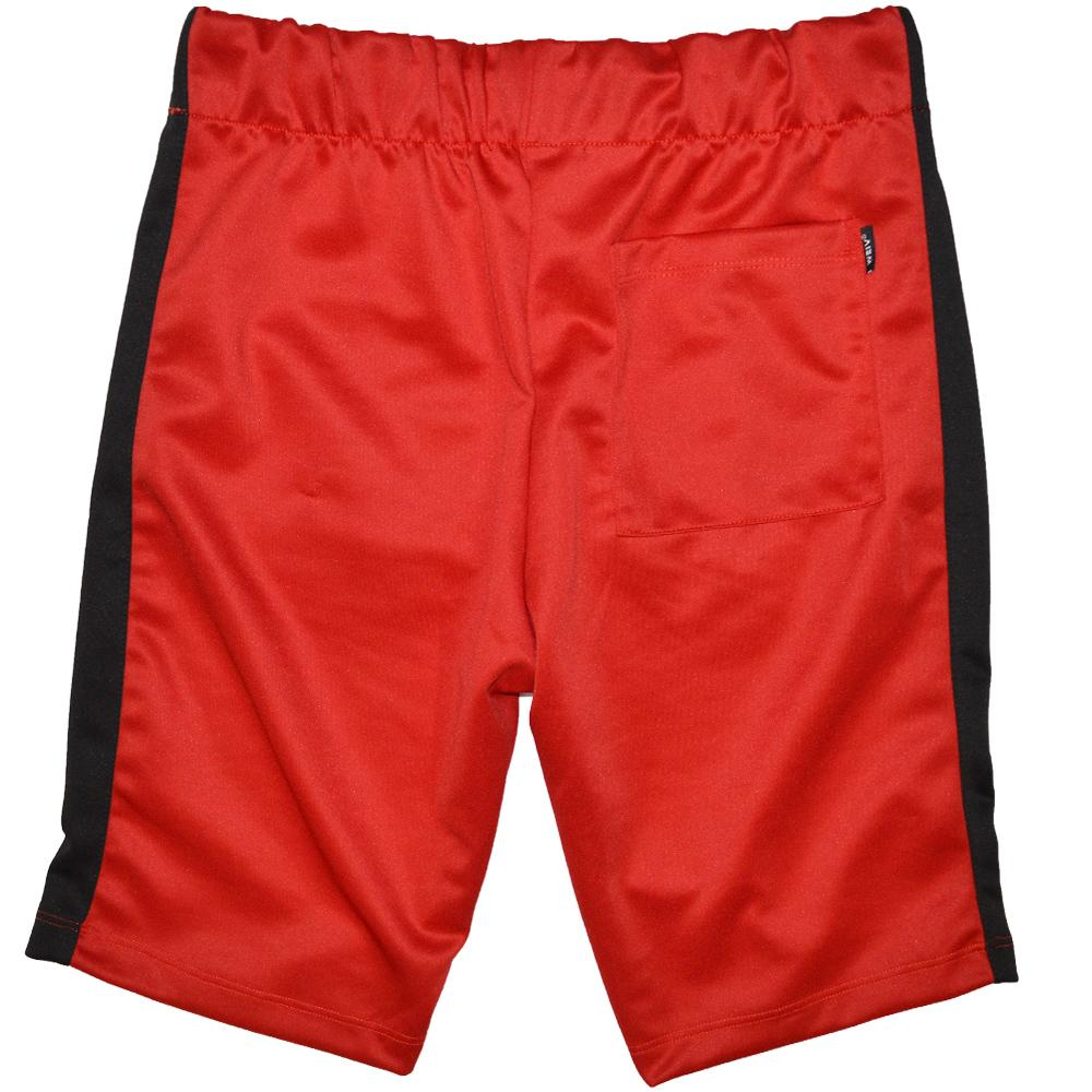 HOLIDAY SHORTS - RED/BLACK