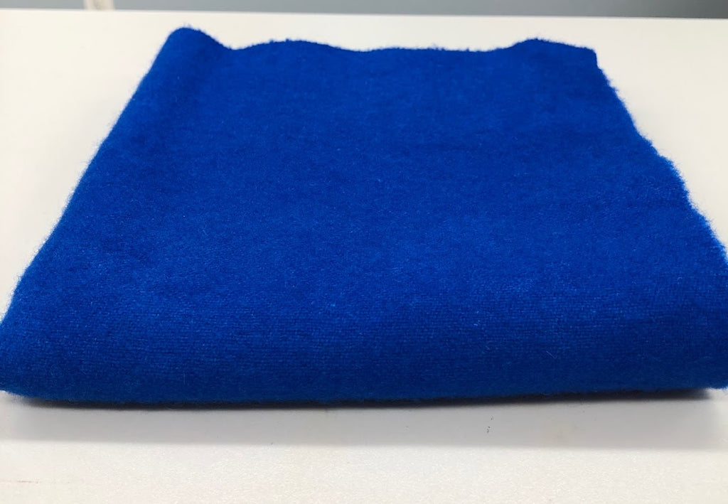 Cobalt Blue, Wool Fabric