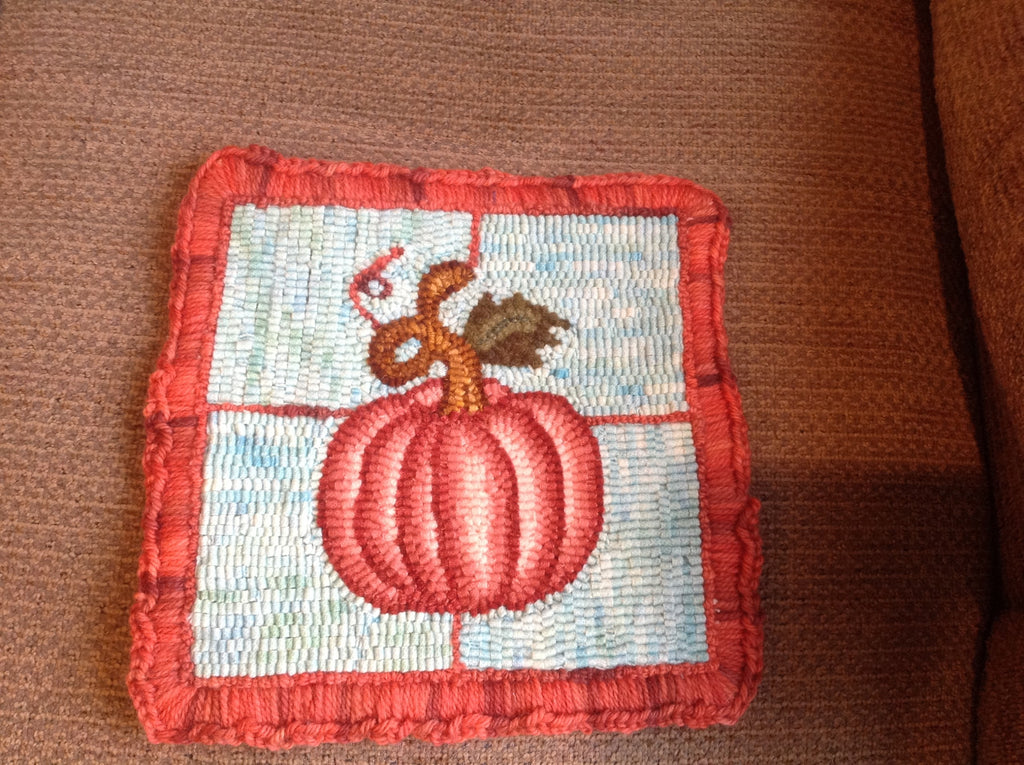 Pumpkin, Rug Hooking Pattern