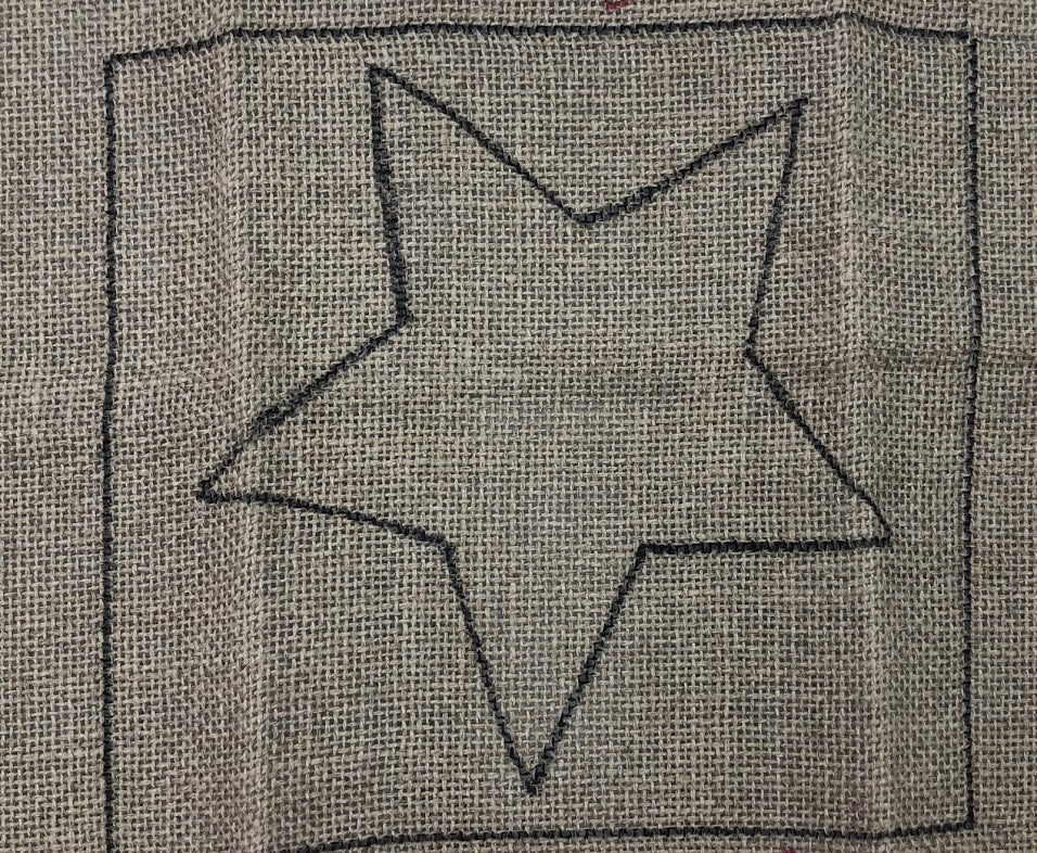 Star Bright, Rug Hooking Pattern