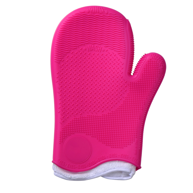 Makeup Brush Cleaner Glove