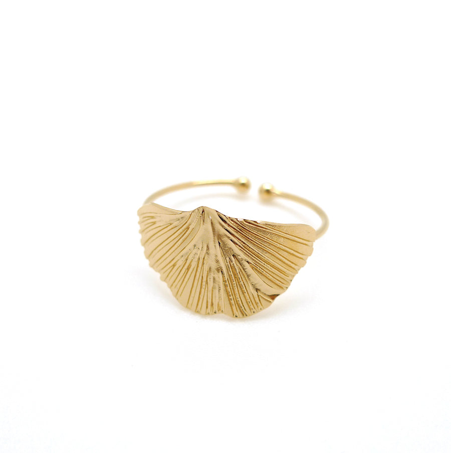 Small Ginkgo Ring
