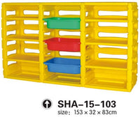 Kids' Plastic Organizer 3 Drawers SHA-15-103