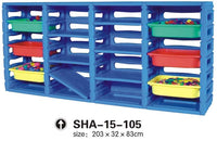 Kids' Plastic Organizer 6 Drawers SHA-15-105