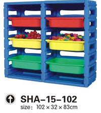 Kids' Plastic Organier 6 Drawers SHA-15-102