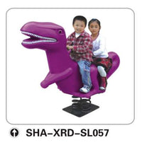 Kids' Spring Double Seater Rocking Horse Dinosaur SHA- SL057