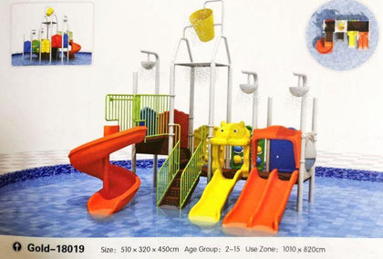 Kids Water Playground GOLD-18019 - E-Baza