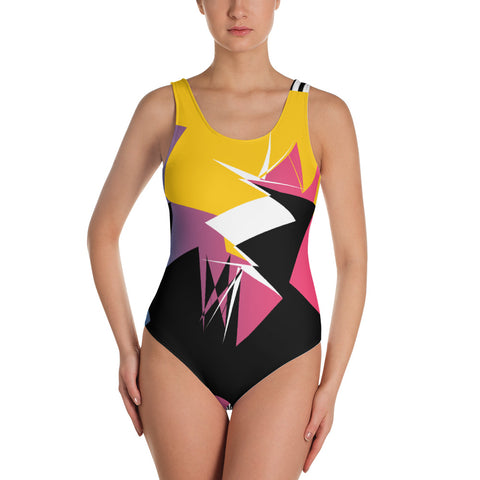 Fast Fashion One Piece Swimsuit