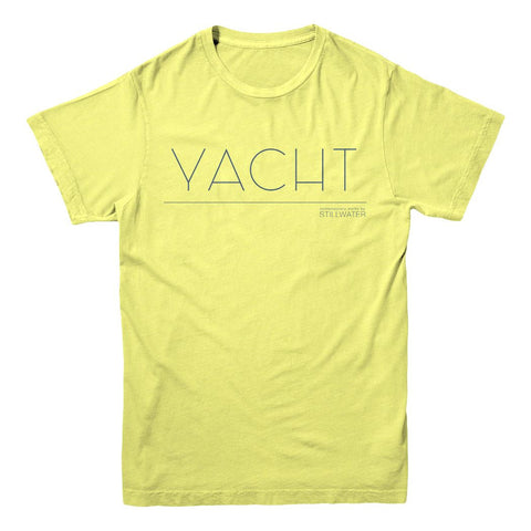 Stillwater Yacht Shirt - Yellow
