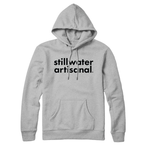 Stillwater Box Logo Heather Grey Hoodie