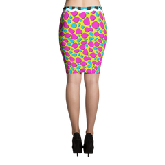 Stillwater On Fleek Pencil Skirt Back