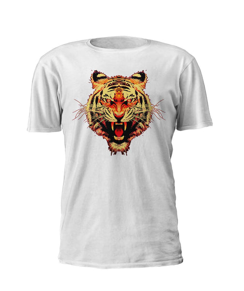 Stillwater Tiger Shirt - White