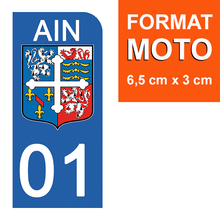 Upload image to gallery, Stickers for AUTO and MOTO license plate - 01 AIN