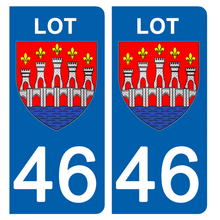Upload image to gallery, Stickers for AUTO and MOTORCYCLE license plates - 46 LOT