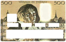 Upload the image to the gallery, Pascal 500 francs