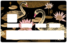 Load the image in the gallery, Swans and Lotus