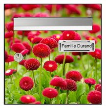 Upload image to gallery, Letterbox sticker, Red flowers