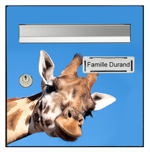 Upload the image to the gallery, The curious giraffe