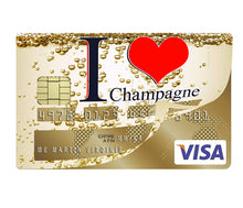 Upload the image to the gallery, I love CHAMPAGNE