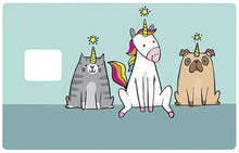 Upload the image to the gallery, Unicorns exist!