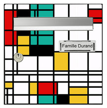 Upload the image to the gallery, Homage to Mondrian