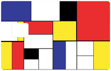 Upload the image to the gallery, Tribute to Mondrian, limited edition 300 ex