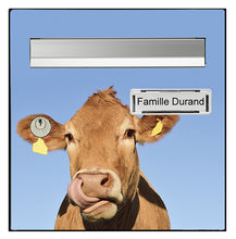 Upload the image to the gallery, La vache